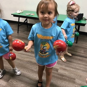 WEBBY TOTS are loving their new summer s