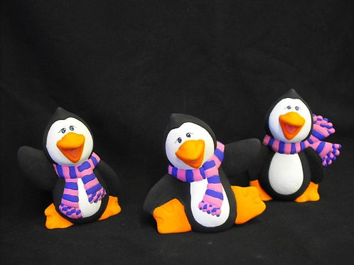 Set of 3 Penguins