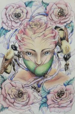 Bee-headed