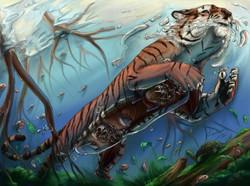 Tiger Submarine