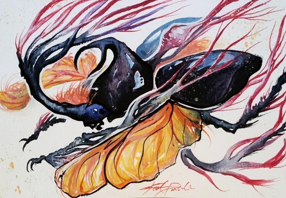 zombie fungus beetle