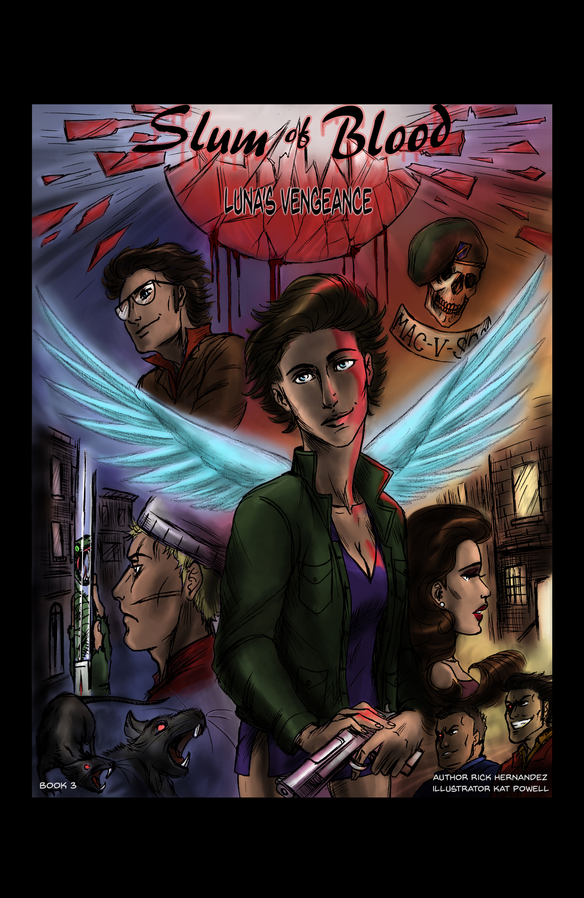 Slum of Blood comic book 3