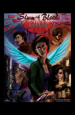 Slum of Blood comic book 3
