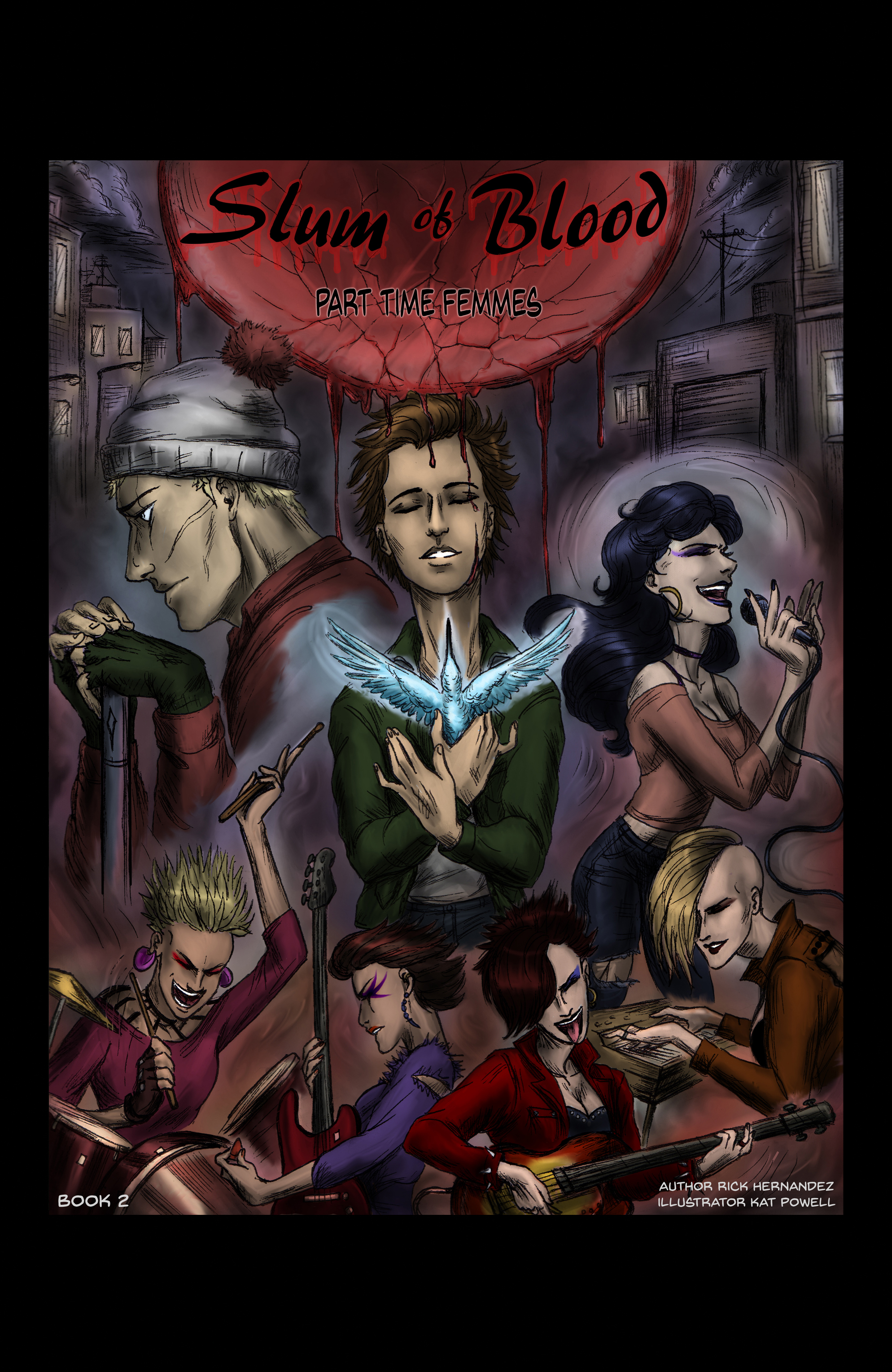 Slum of Blood comic book 2
