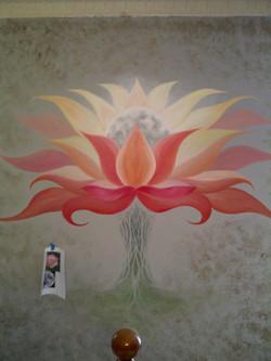 Lotus Moon wall mural