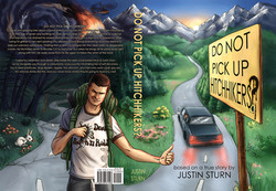 Do Not Pick Up Hitchhikers full cover design