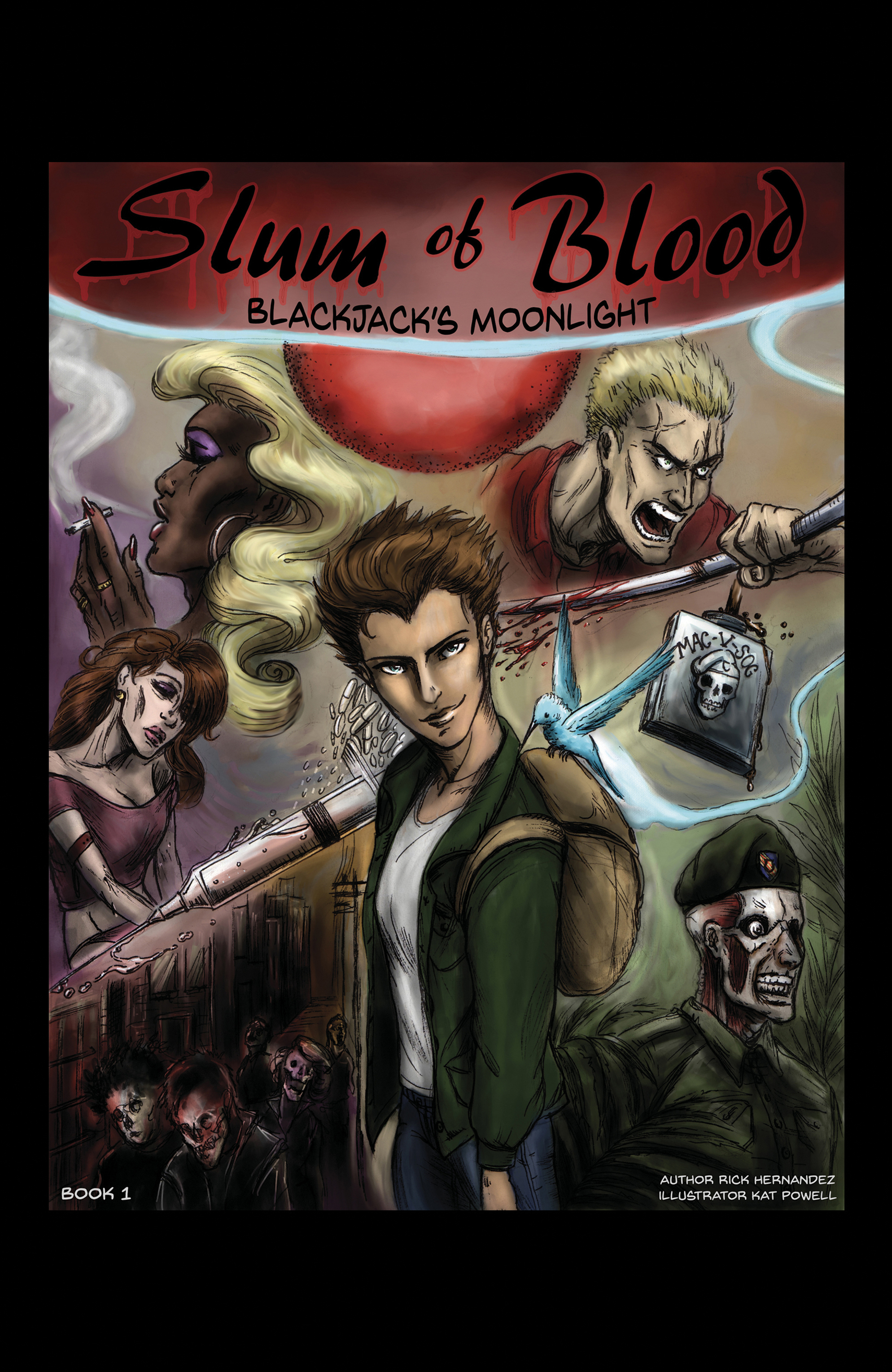 Slum of Blood comic book 1