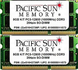 819555011573 - 8GB KIT 1600MHz DDR3 SO-D