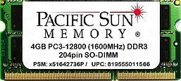 819555011566 -4GB 1600MHz DDR3 SO-DIMM.j