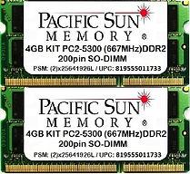 819555011733 -4GB KIT 667MHz DDR2 SO-DIM