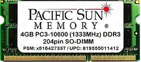 819555011412 -4GB 1333MHz DDR3 SO-DIMM.j