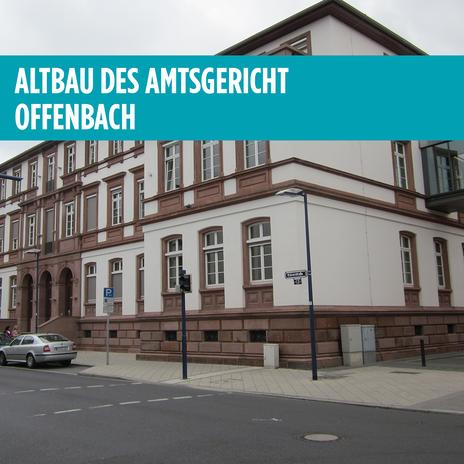 Altbau des Amtsgericht Offenbach