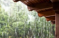 rain off roof