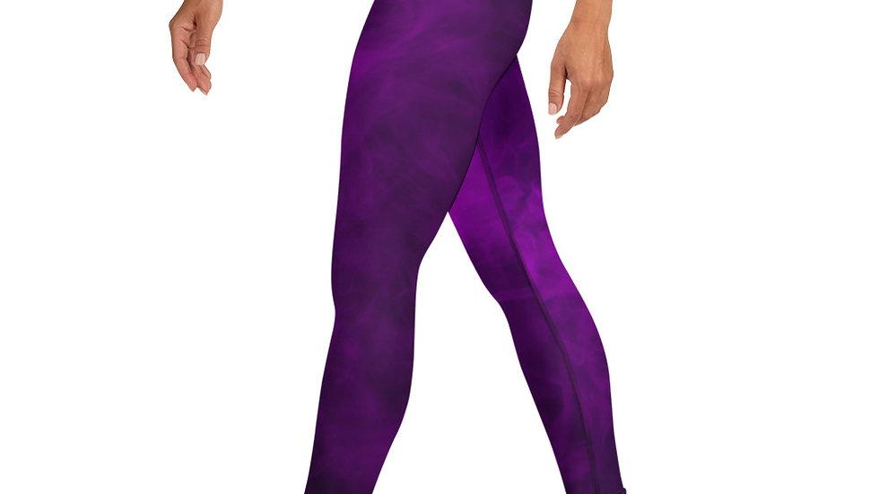 Purple Princess Leggings