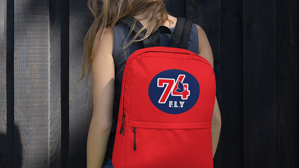 The '74 Store Original Logo Red Backpack