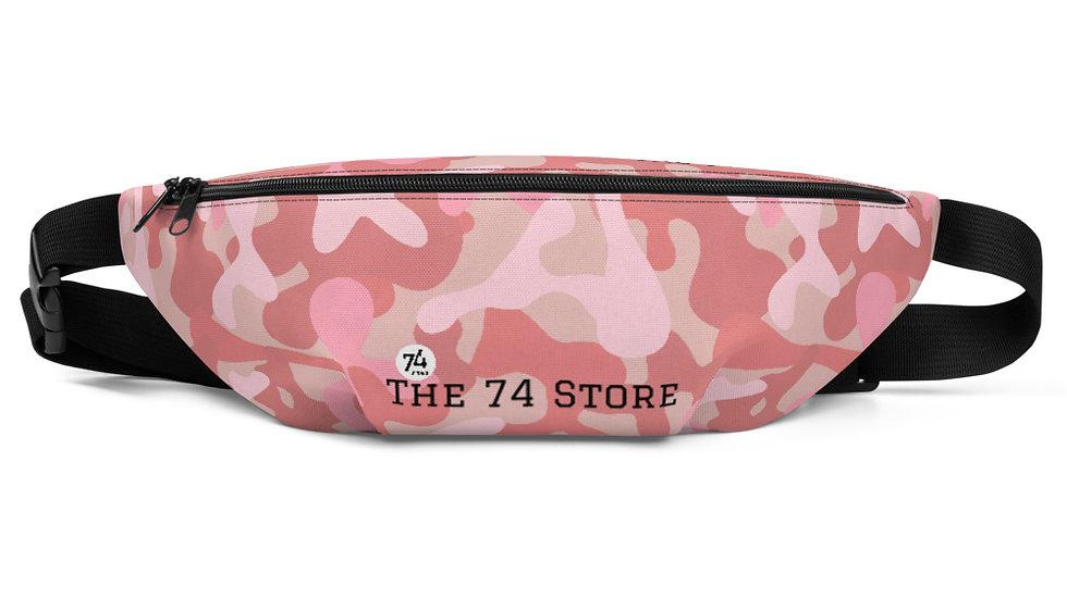 Pink Camouflage Bum Bag