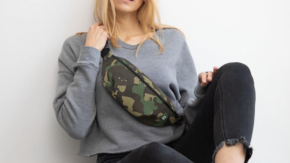 Green Camouflage Bum Bag