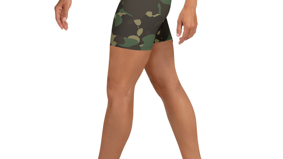 Military Warrior Camouflage Shorts