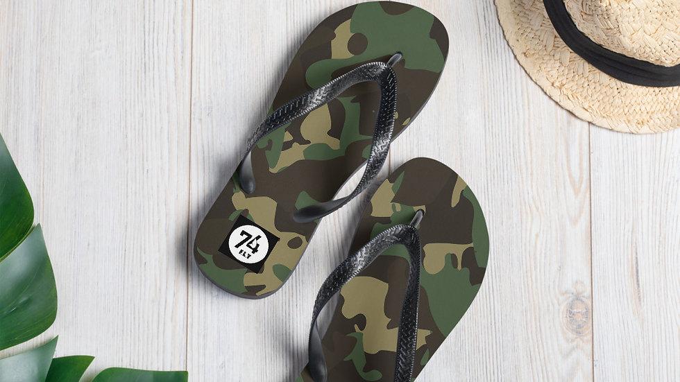'74 Store Camouflage Flip-Flops