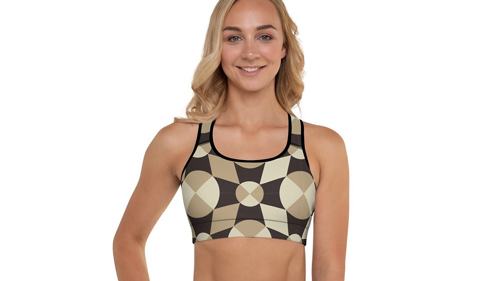 Throw Some Shapes Sports Bra