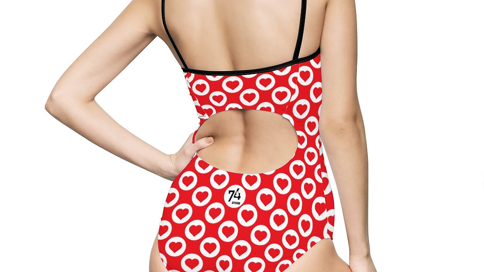 Hearts One-piece Swimsuit