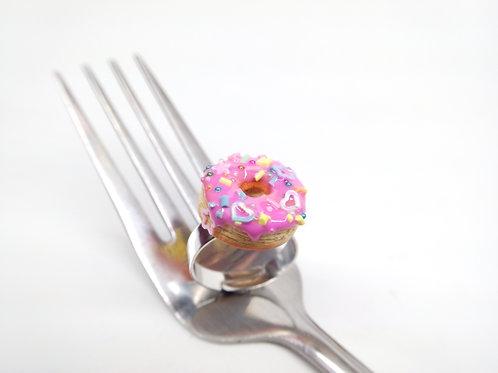 Pinkfetti Donut Ring