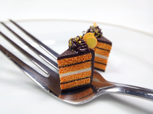 Orange & Chocolate Cake Charm