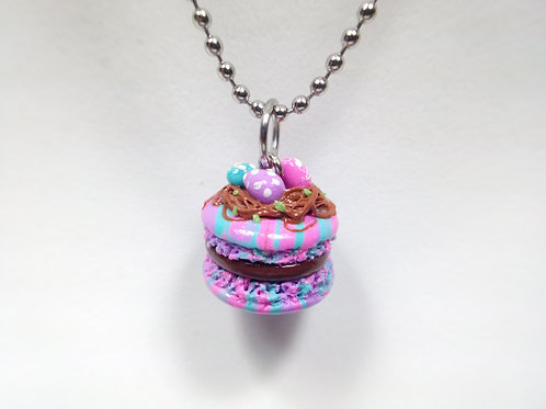 Easter Macaron Necklace