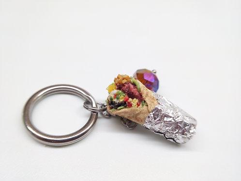 Loaded Burrito Keychain