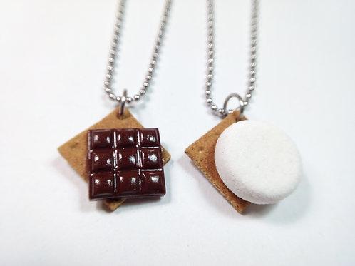 Best Friend S'more Necklaces