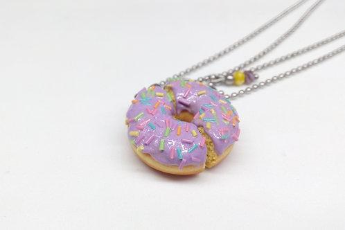BFF Donut Necklace Set