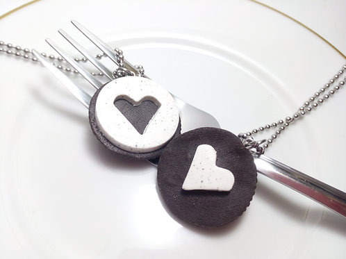 Best Friends Cookie Necklaces