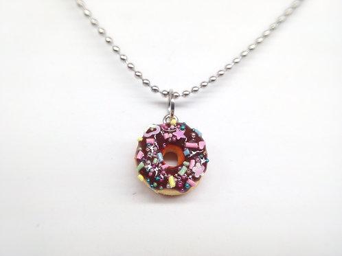 Chocofetti Donut Necklace