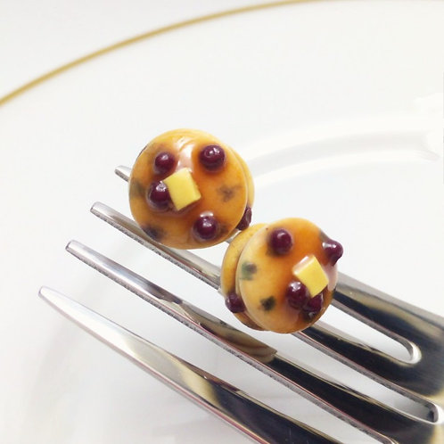 Blueberry Pancake Studs