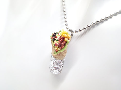 Loaded Burrito Necklace