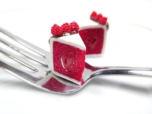 Red Velvet Cake Charm