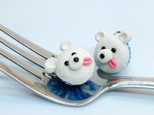 Polar Bear Cupcake