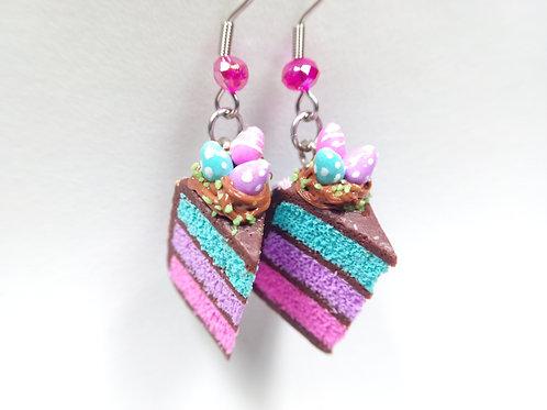 Easter Cake Earrings