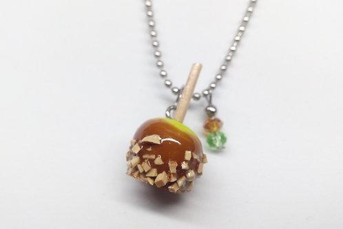 Caramel Apple Necklace