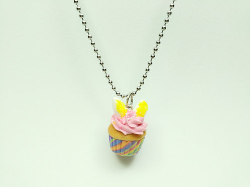 Easter Bunny Cupcake Necklace