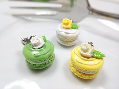 Spring Floral Macarons