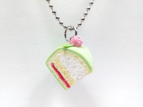 Swedish Princess Cake Necklace