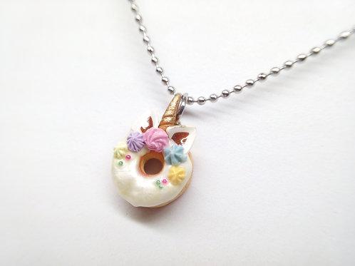 Unicorn Donut Necklace