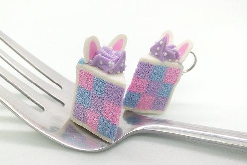 Bunny Checkerboard Cake