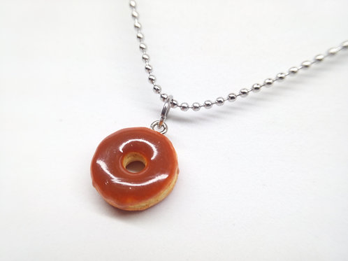 Maple Donut Necklace