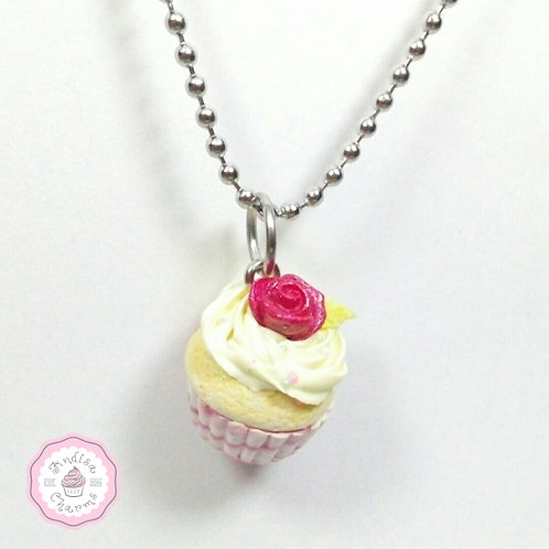 Mother's Day Cupcake Necklace