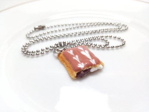 S'more Toaster Pastry Necklace