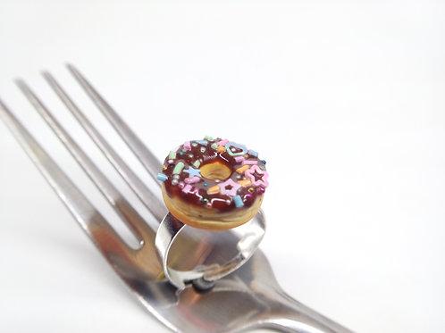 Chocofetti Donut Ring
