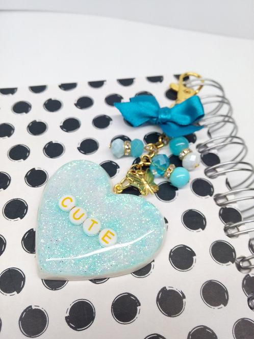 Cute Heart Keychain