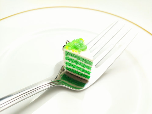 St. Patrick's Day Cake Charm